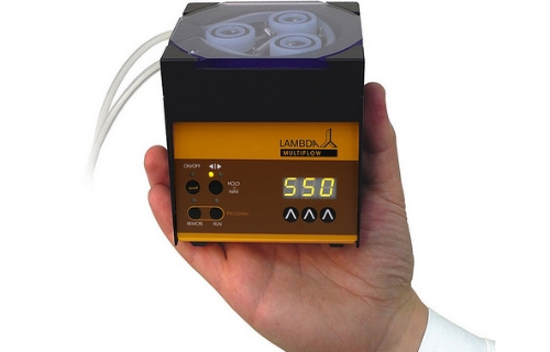 Peristaltic Pump Fits In Your Hand